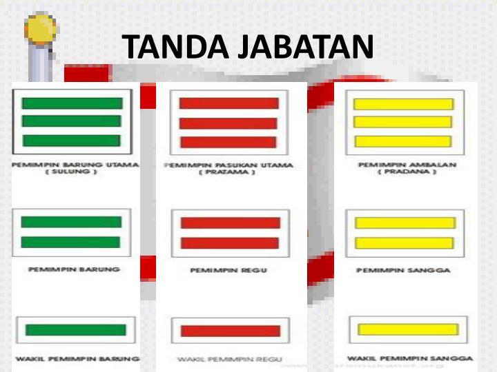 TANDA JABATAN
