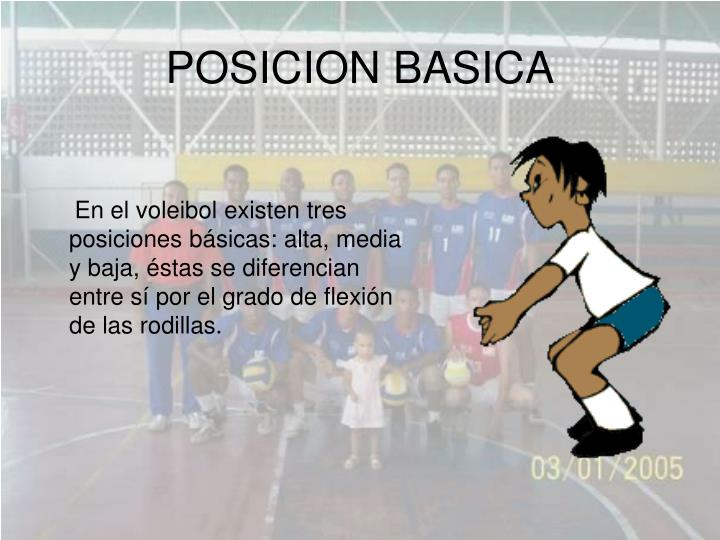 POSICION BASICA
