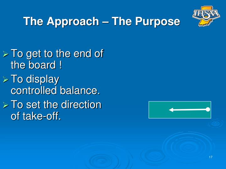 The Approach – The Purpose