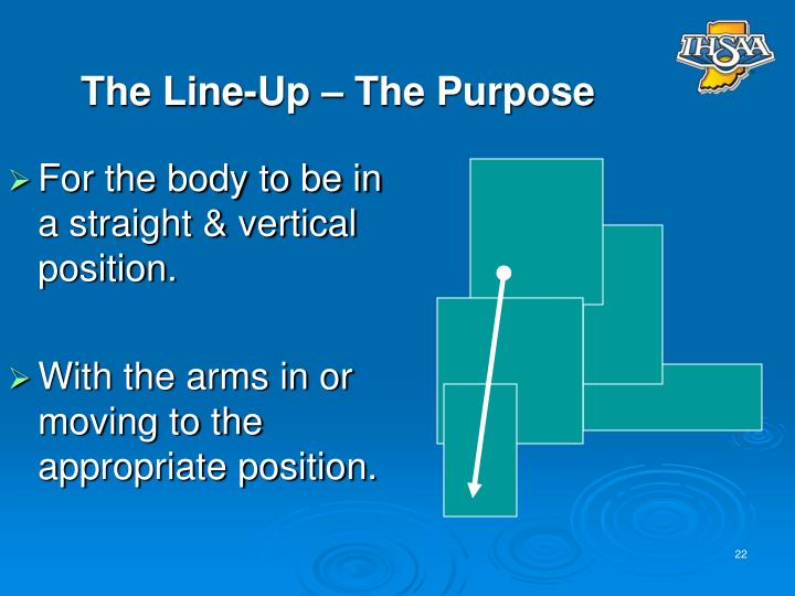 The Line-Up – The Purpose