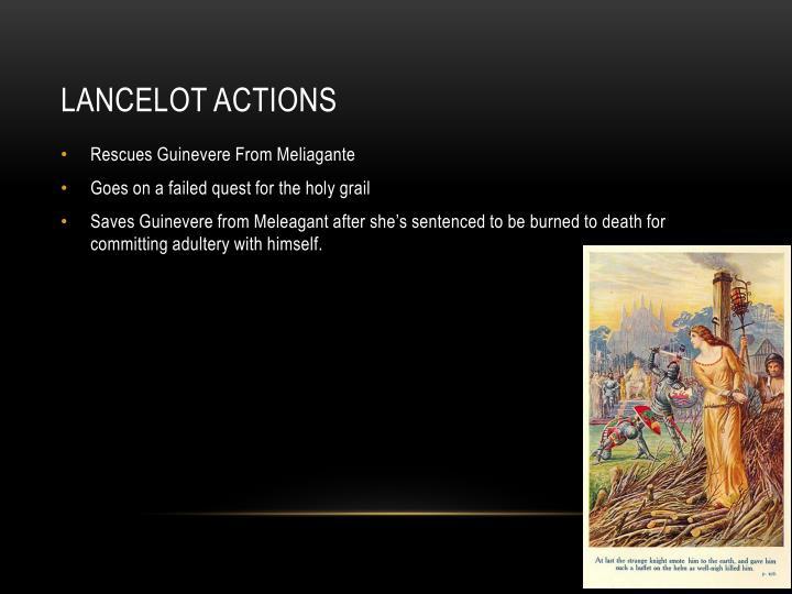 Lancelot actions