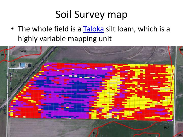 Soil Survey map