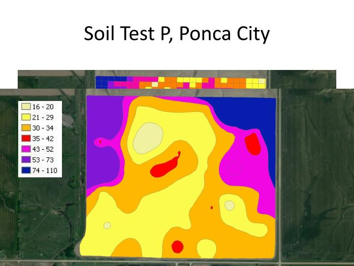 Soil Test P, Ponca City