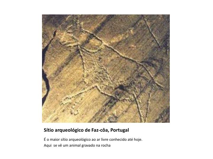 Sítio arqueológico de Faz-côa, Portugal