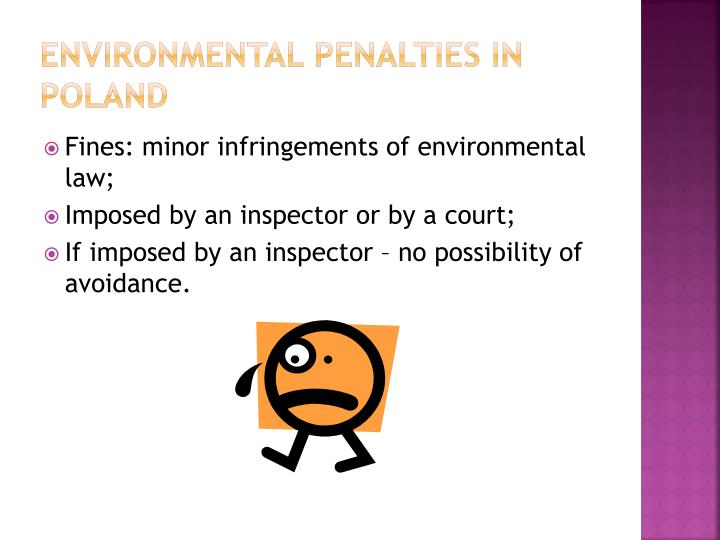 Environmental penalties in poland1