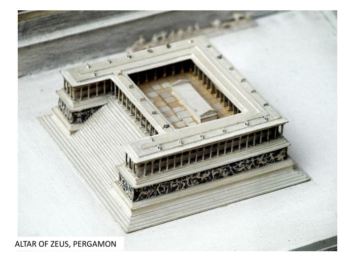 ALTAR OF ZEUS, PERGAMON