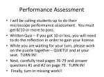 performance assessment1