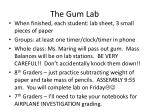 the gum lab