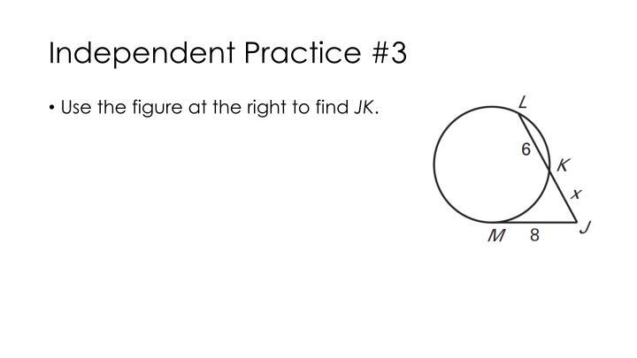 Independent Practice #3