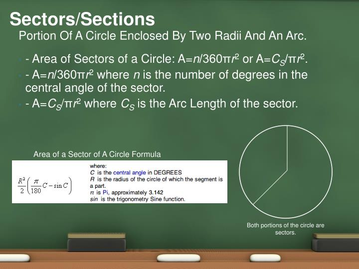 Sectors/Sections