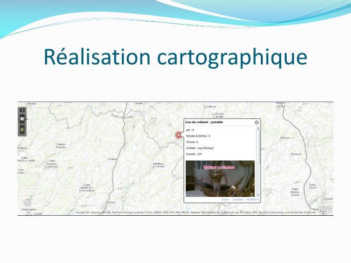 Réalisation cartographique