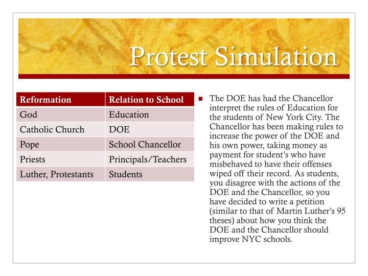 Protest Simulation