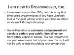 i am new to dreamweaver too