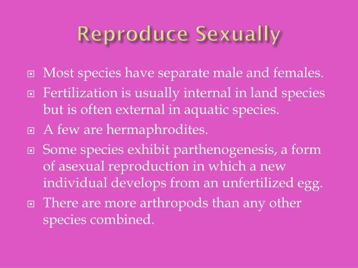 Reproduce Sexually