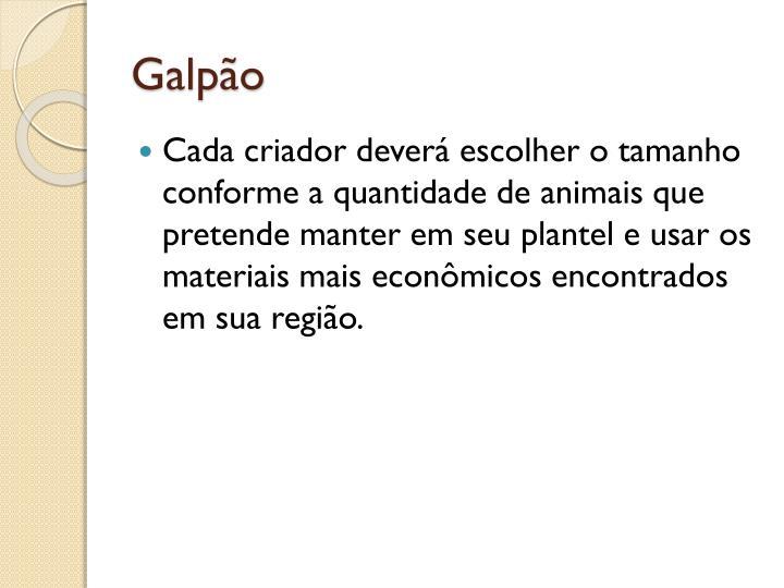 Galpo