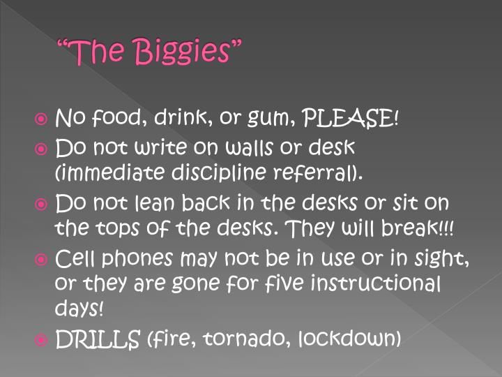 """The Biggies"""
