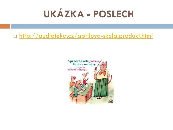 UKÁZKA - POSLECH
