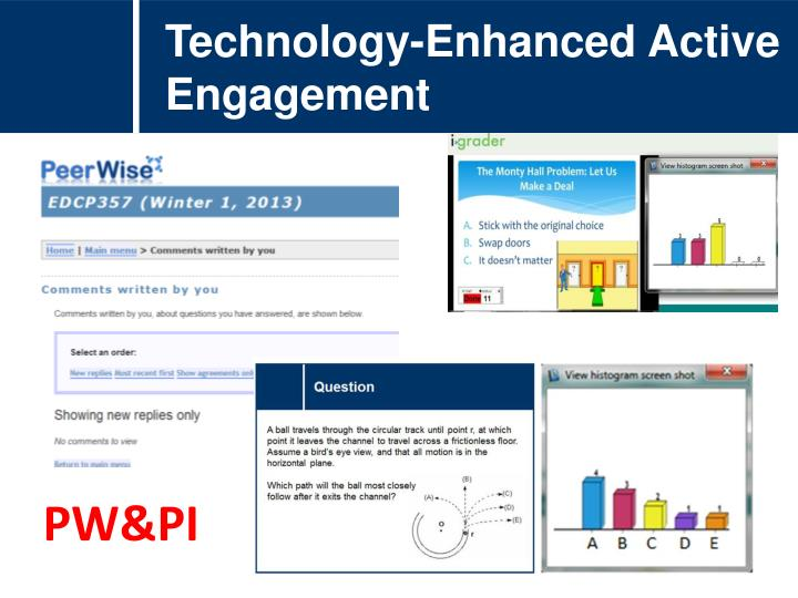 Technology-Enhanced Active Engagement