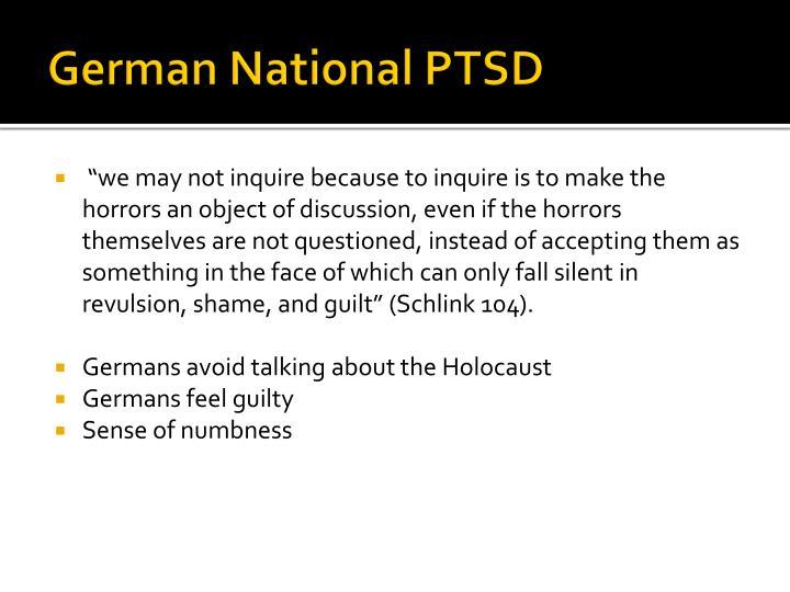 German National PTSD