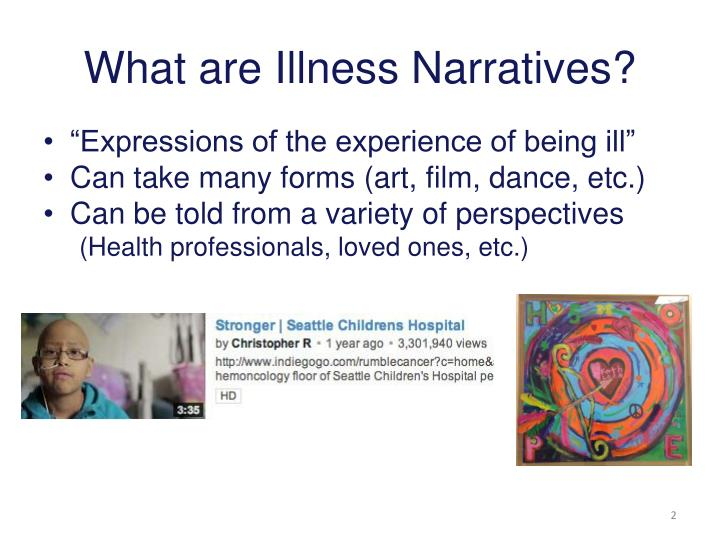 What are Illness Narratives?