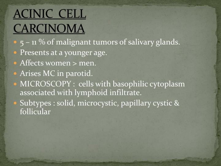 ACINIC  CELL