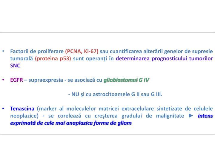 Factorii de proliferare