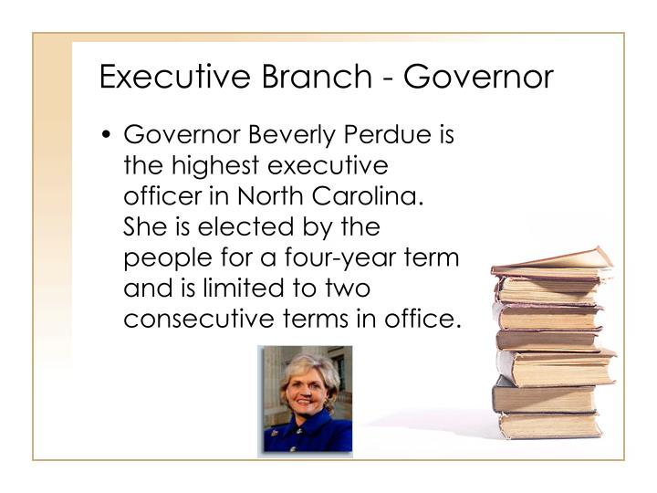 Executive Branch - Governor