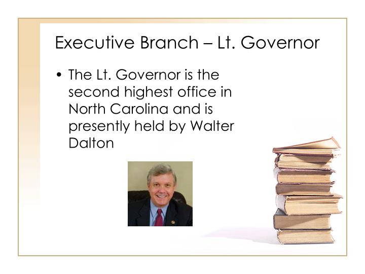 Executive Branch – Lt. Governor