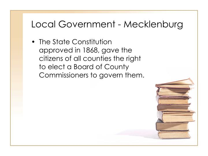 Local Government - Mecklenburg