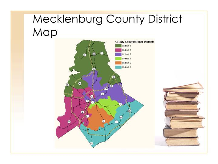 Mecklenburg County District Map