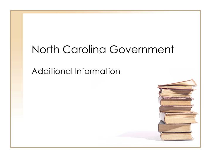 North carolina government