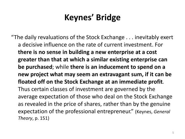 Keynes' Bridge
