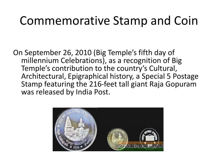 Commemorative Stamp and Coin