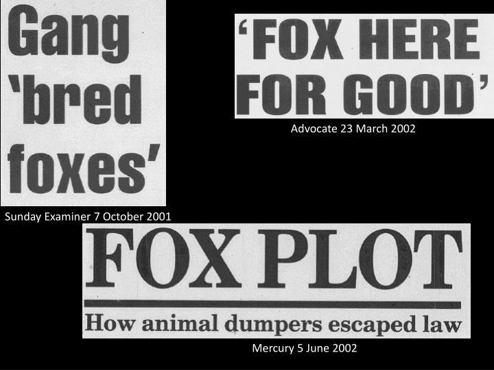 Advocate 23 March 2002
