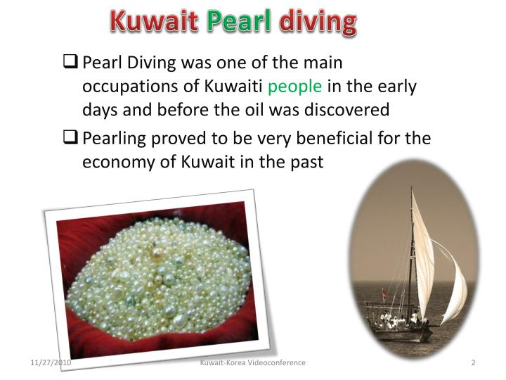 Kuwait pearl diving