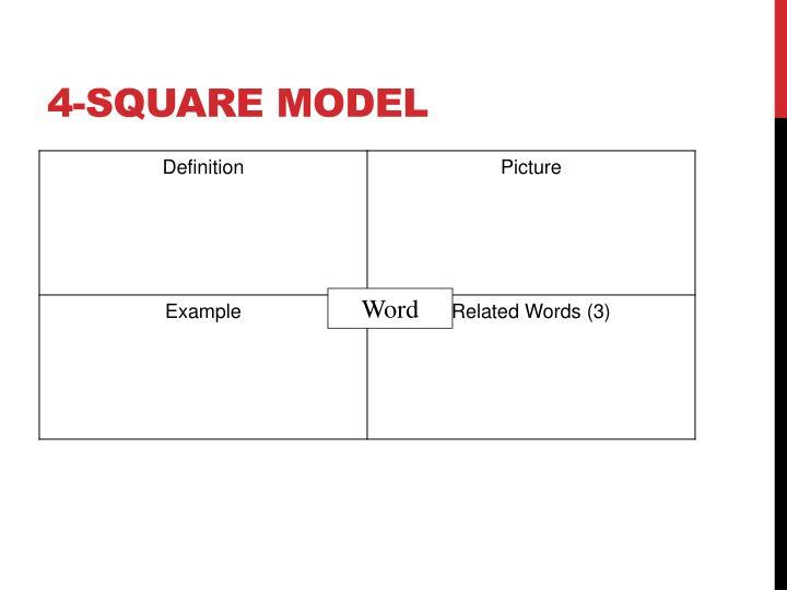 4-square Model