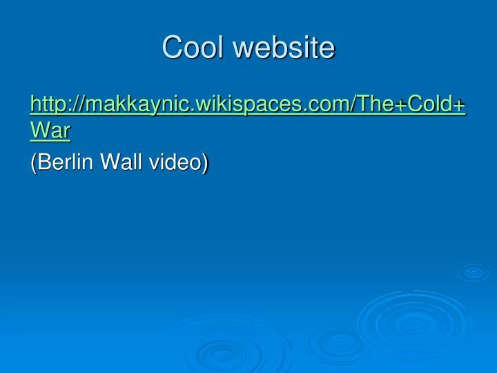 Cool website