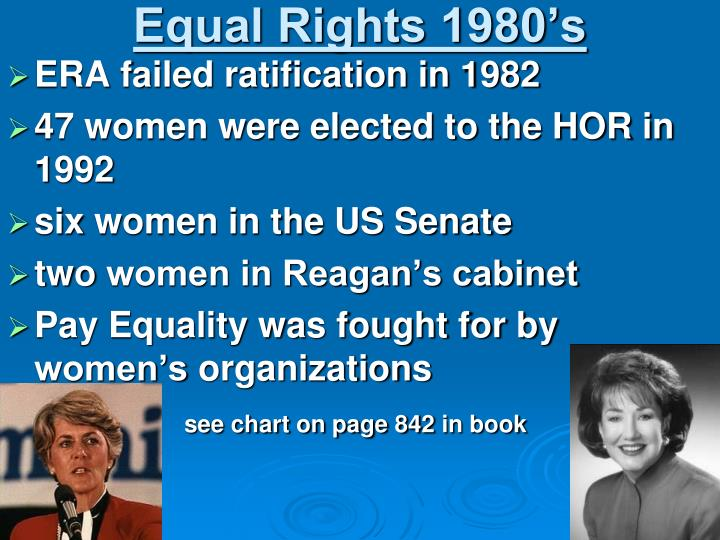 Equal Rights 1980's