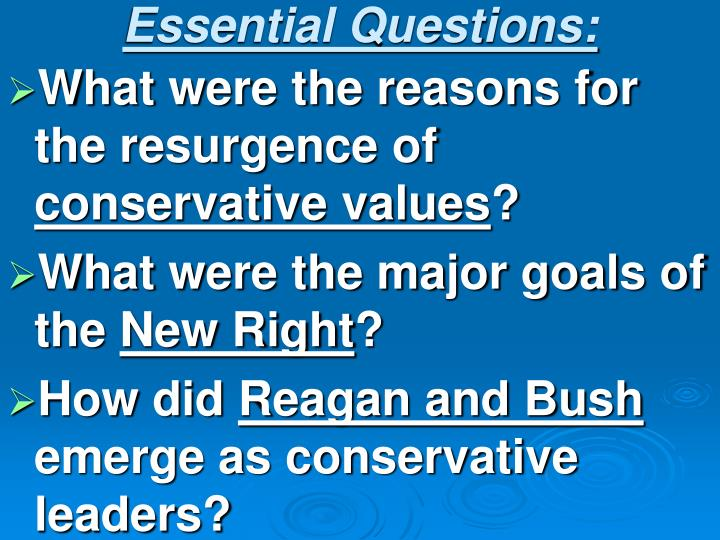 Essential Questions: