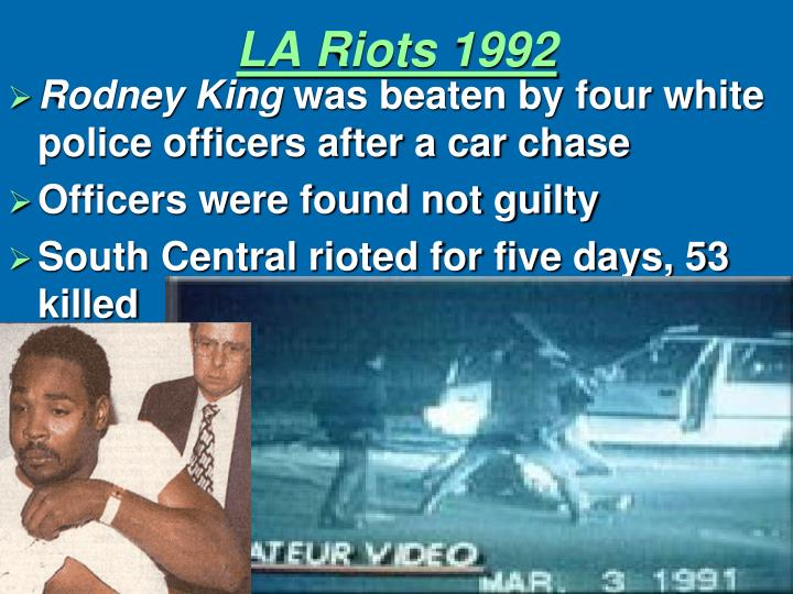 LA Riots 1992