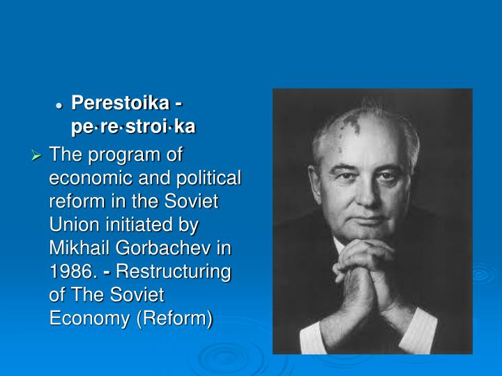 Perestoika