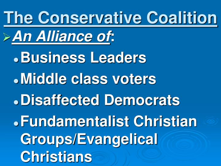 The Conservative Coalition