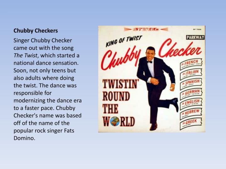 Chubby checkers cd pics your