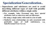 specialization generalization3