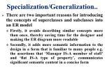 specialization generalization6