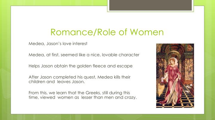 Romance/Role of Women