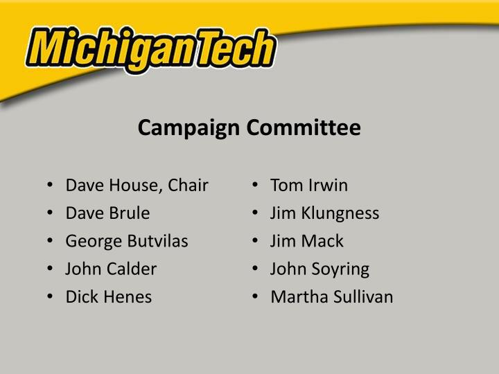 Campaign Committee