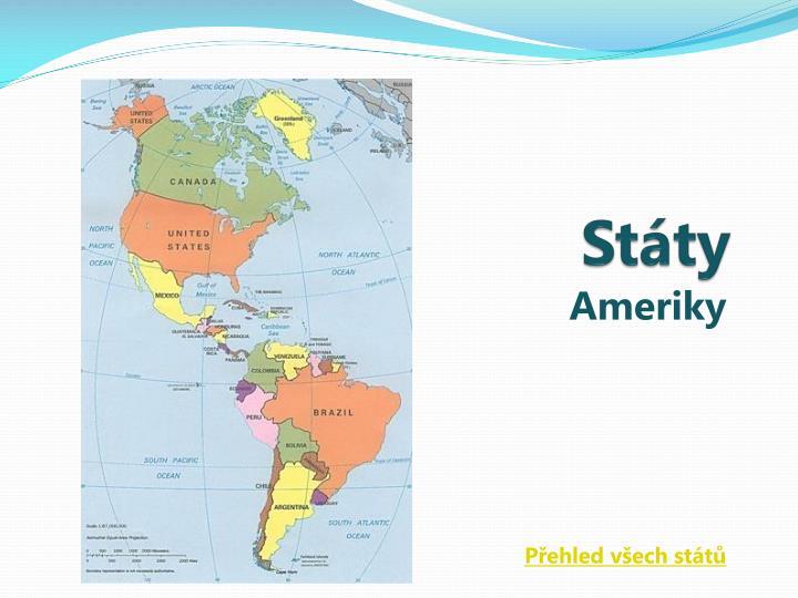 Státy