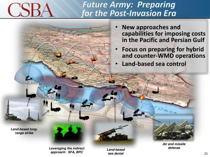 Future Army:  Preparing