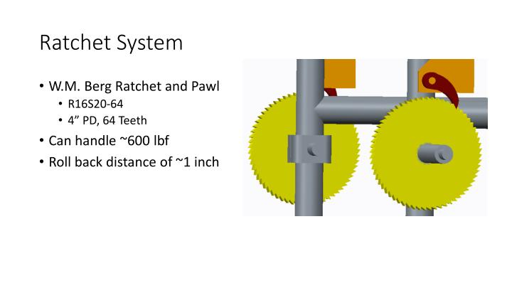 Ratchet System
